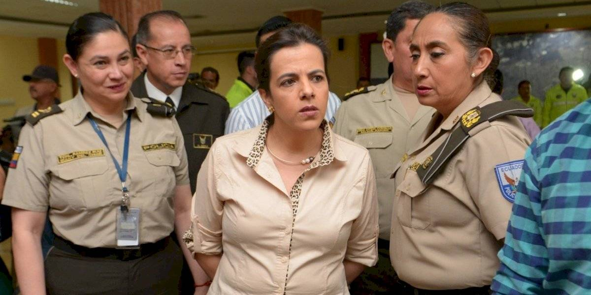 La ministra de Gobierno, María Paula Romo, plantea reformas al Código Integral Penal