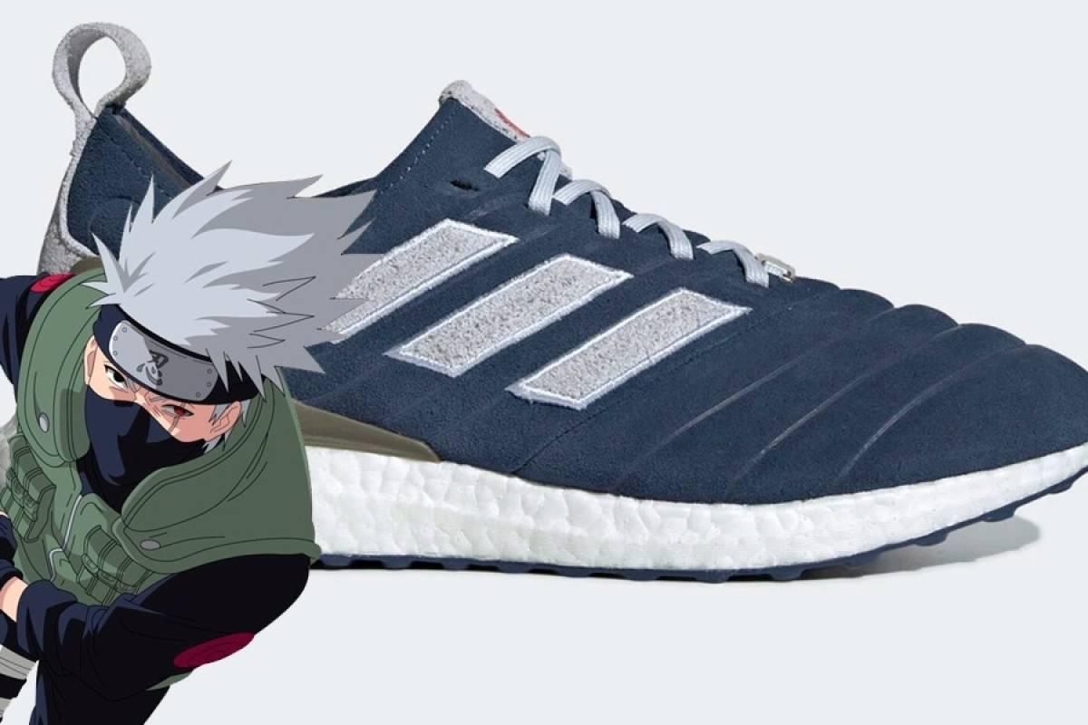 Así serán las zapatillas inspiradas en Kakashi Hatake de