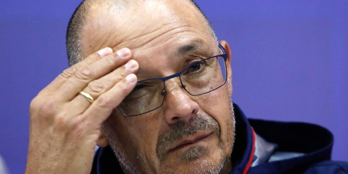"""Arias ante la opción de dejar la U si pierde ante Audax: """"Mi puesto está en riesgo desde que perdí los primeros partidos"""""""