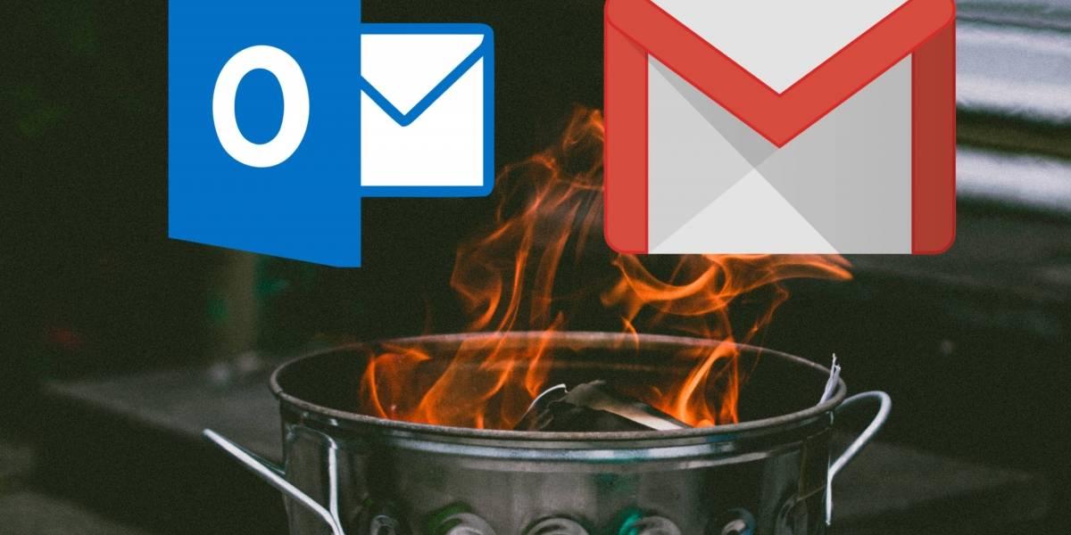 Así puedes borrar tu cuenta de Hotmail o Gmail con estos sencillos pasos