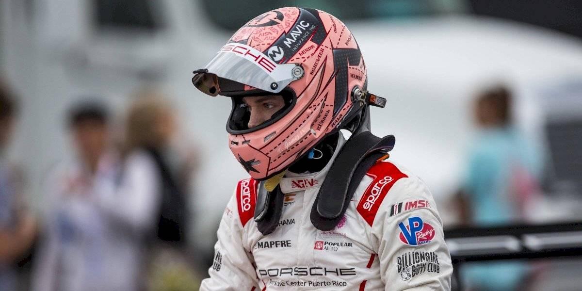 Preparado Victor Gómez IV para competencia en la pista Road America