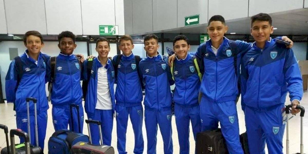 La Selección Sub 15 viaja a Estados Unidos al torneo de Niños de Concacaf