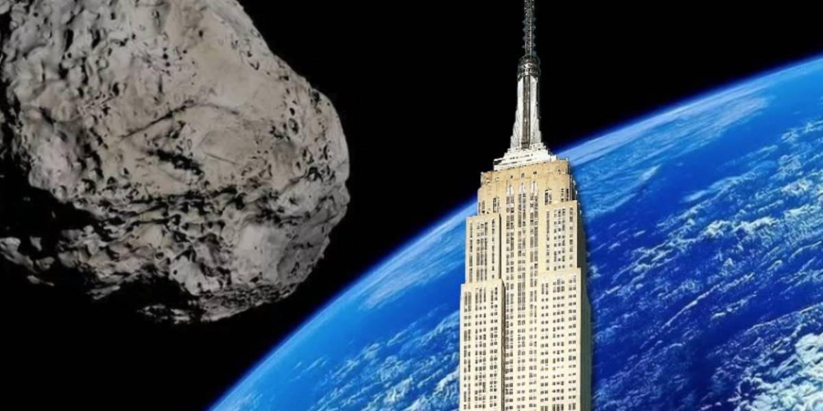 NASA: Un asteroide del tamaño del Empire State pasará cerca de la Tierra