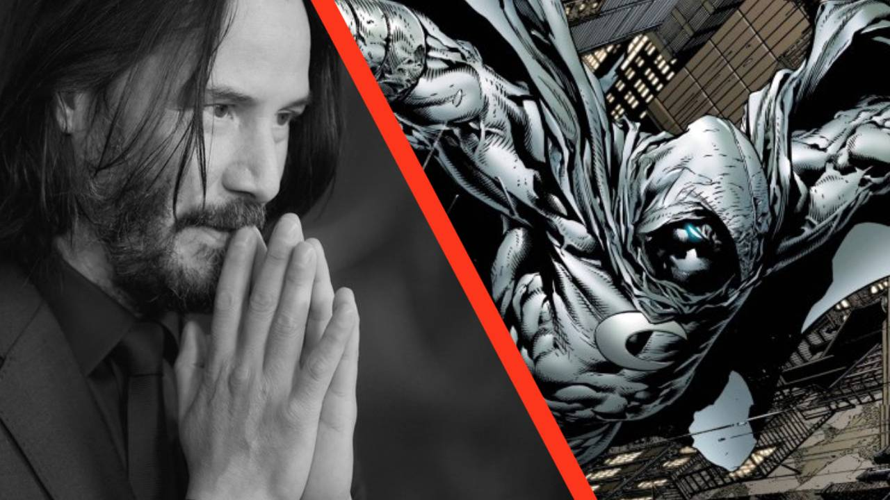 Así es como se vería Keanu Reeves como Moon Knight