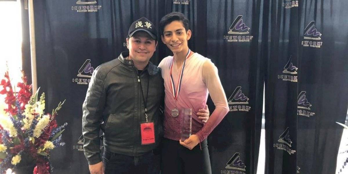 Donovan Carrillo consigue plata de patinaje artístico en los Estados Unidos