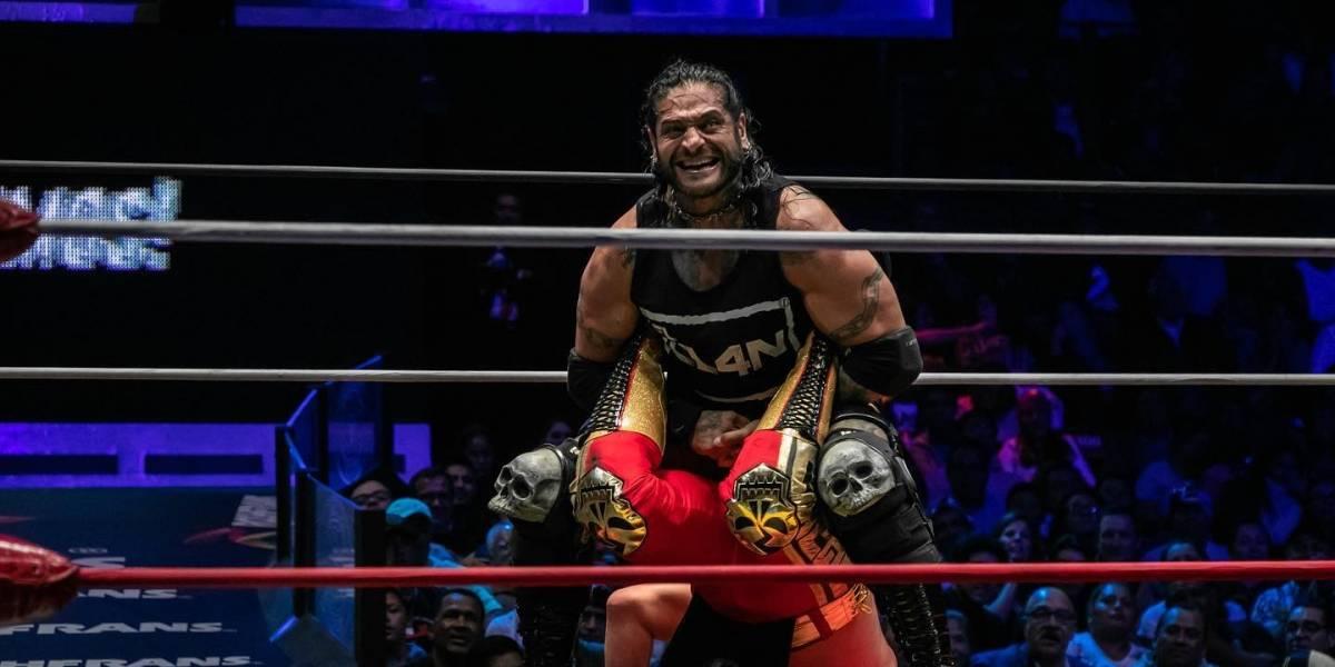 Ciber vuelve a vencer a Último Guerrero, va por su campeonato y su cabellera