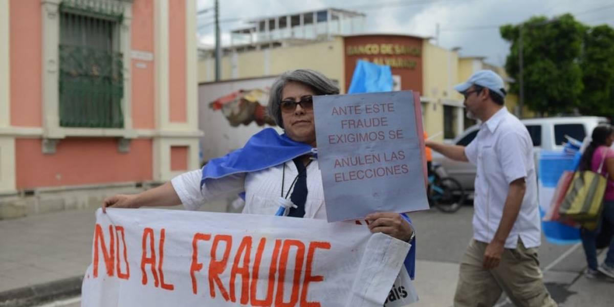 Inconformes piden que no haya segunda vuelta electoral