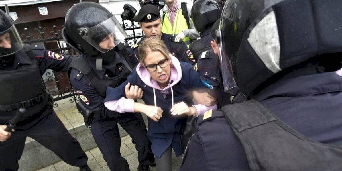 Protestas en Rusia: policía reprime manifestaciones de opositores y detienen a cientos de personas