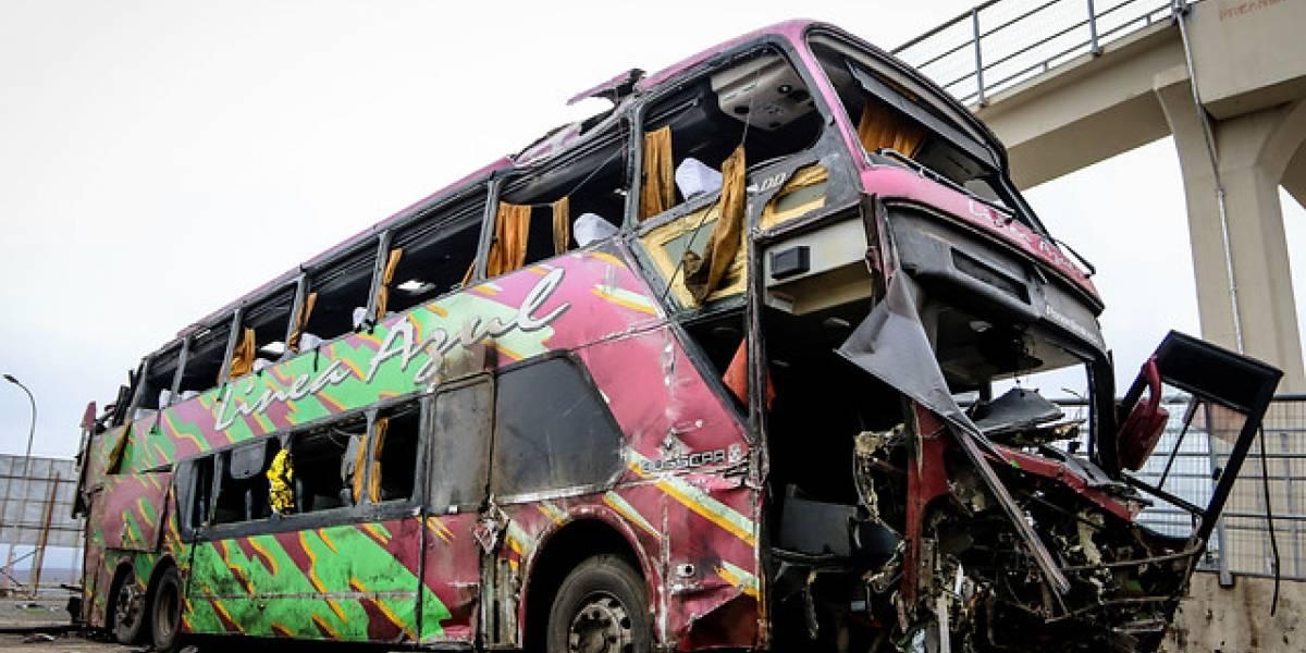 Pese a ser suspendida por el Gobierno tras accidente en Mostazal: empresa de buses Línea Azul sigue realizando viajes Chillán-Concepción