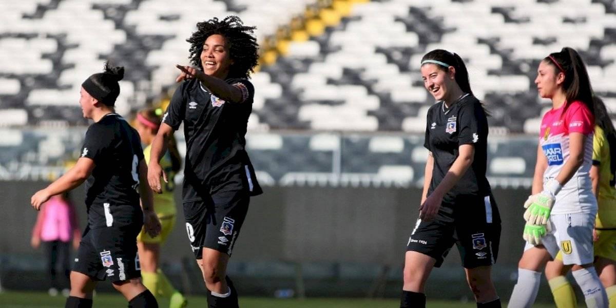 Colo Colo destruyó a la U. de Concepción en el debut de Zapata y sigue firme en la cima del fútbol femenino
