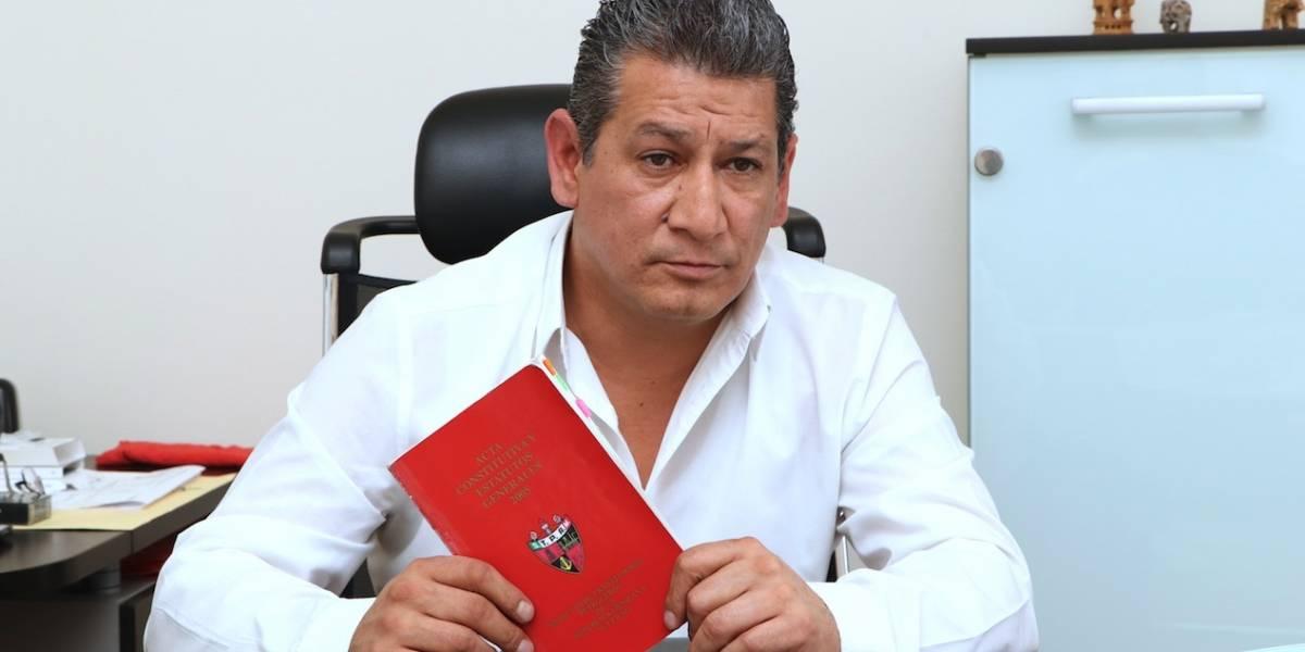 """En el Sindicato yo soy el líder, no Deschamps"": Morales Quintana"