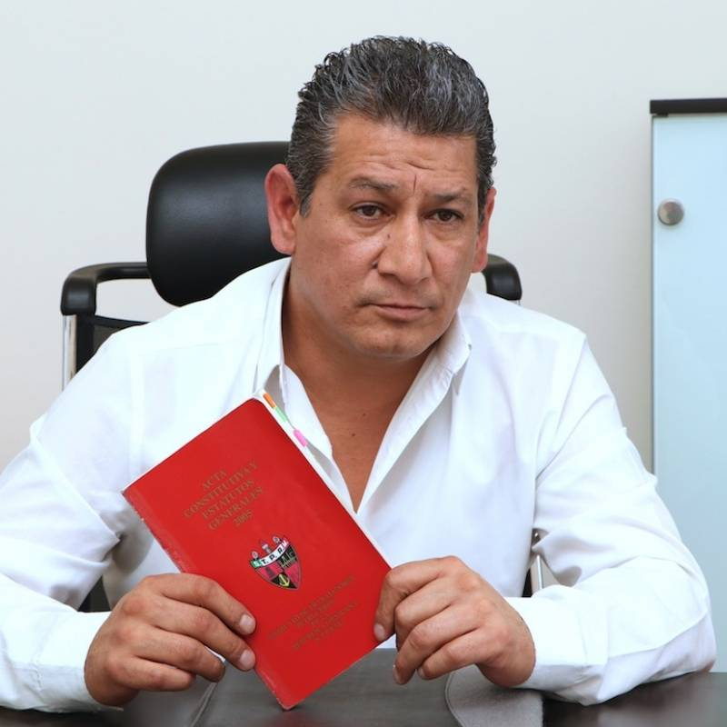 Romero Deschamps explica razones de su renuncia