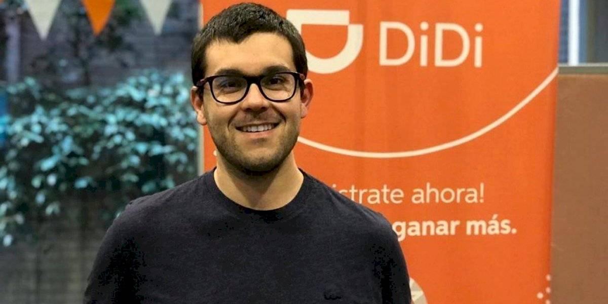 """DiDi llega a Santiago: """"Hay un tremendo mercado todavía que no ha sido penetrado por este tipo de aplicaciones"""""""