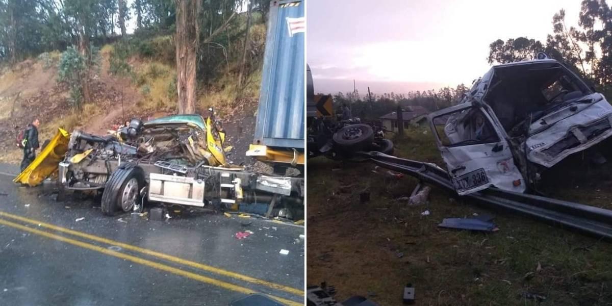 Trágico accidente deja dos personas sin vida en las carreteras de Boyacá