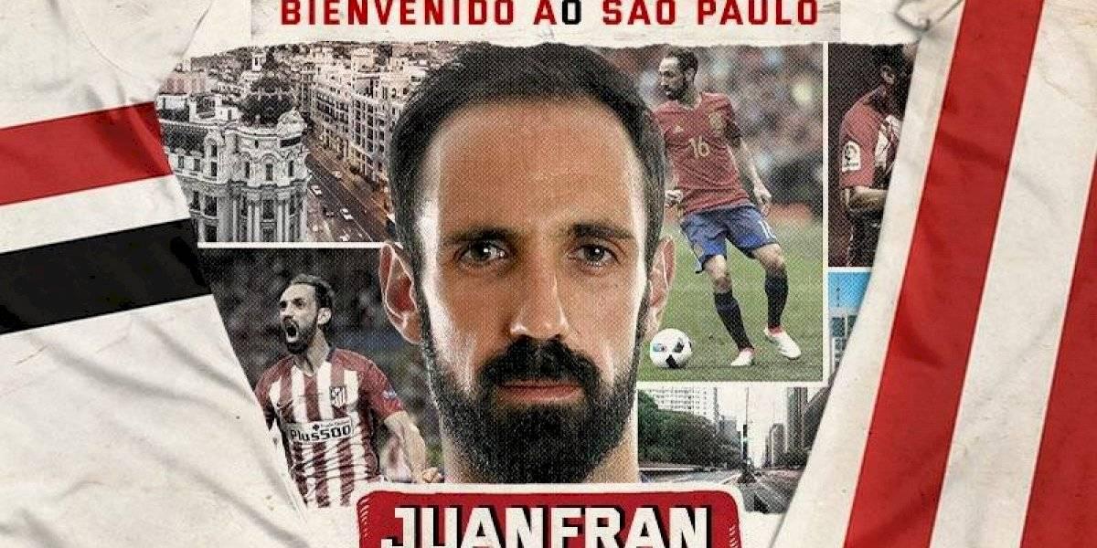 Juanfran, símbolo colchonero, nuevo refuerzo del Sao Paulo