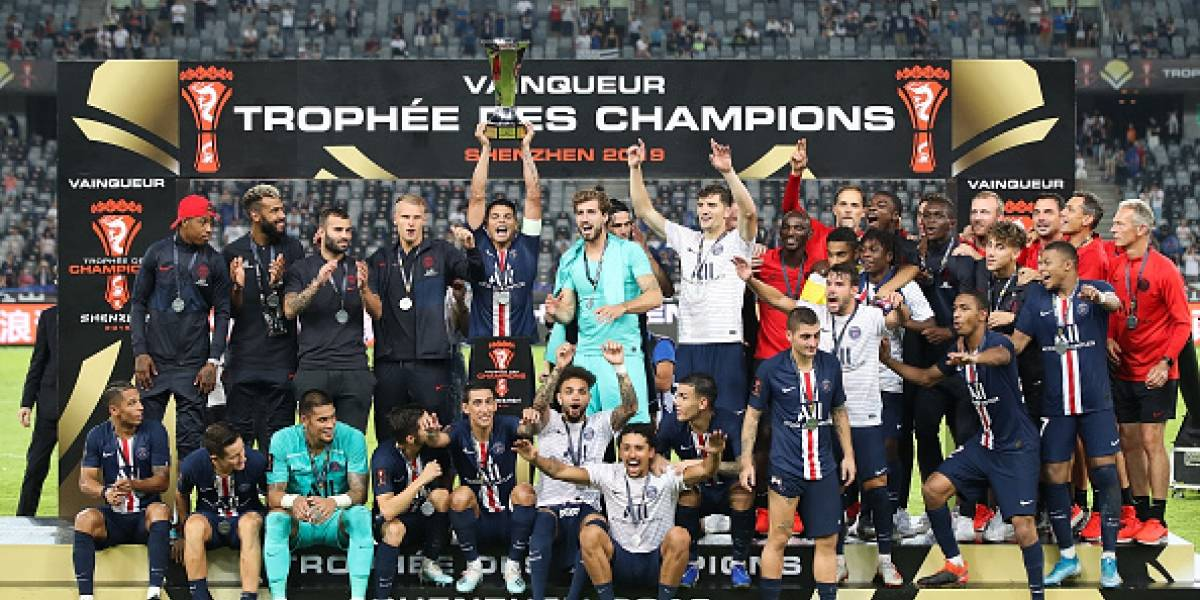 Con golazo de Ángel Di Maria, el PSG gana la Supercopa francesa