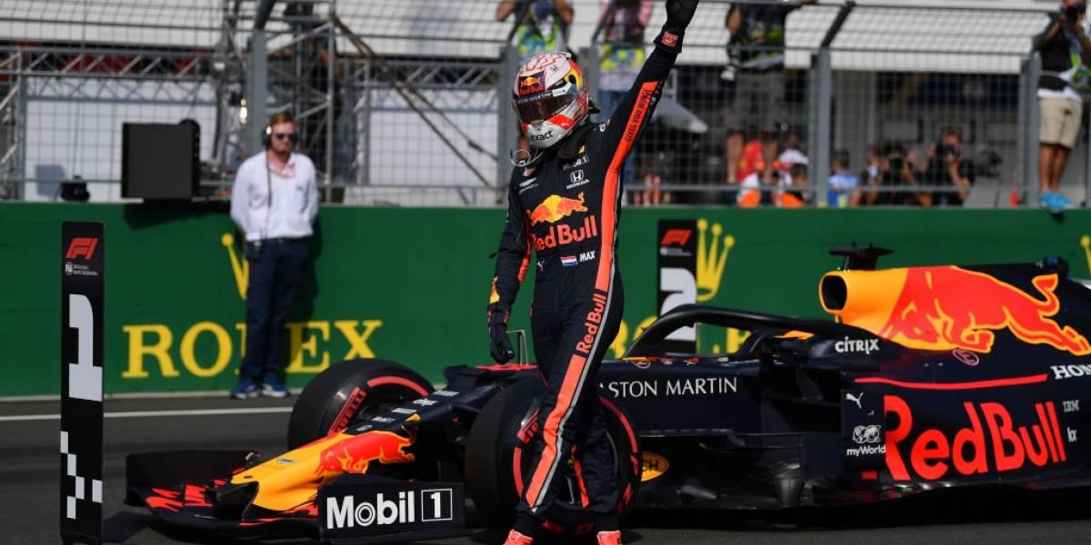 Verstappen hace historia y logra su primera pole position en la Fórmula 1