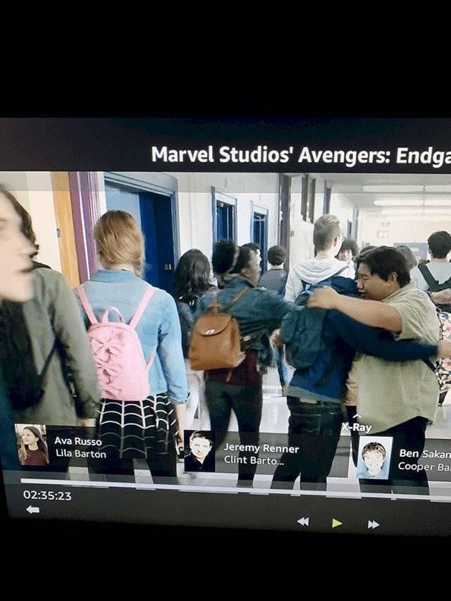 ¿Hay dos cameos de Gwen Stacy aka Spider-Gwen en