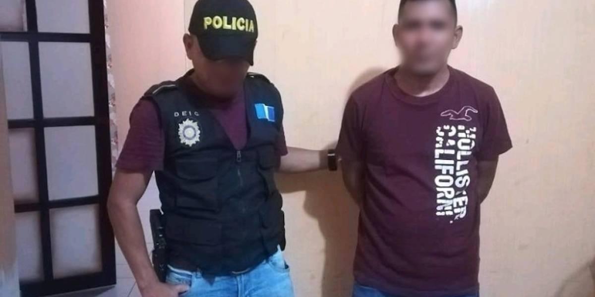 Capturan a sospechoso de agraviar las elecciones de San Jorge