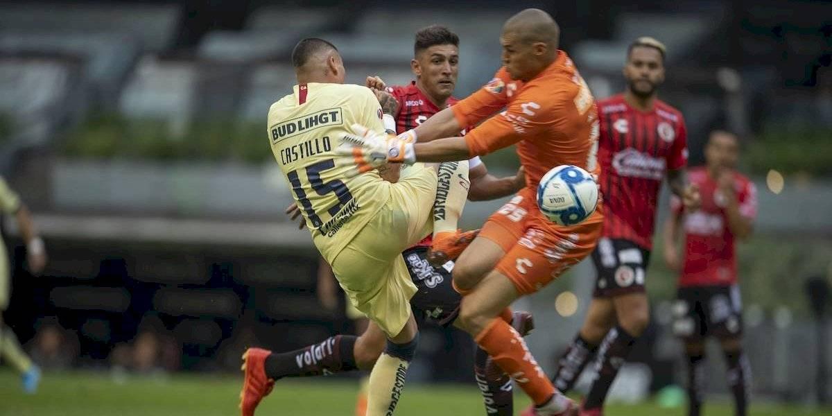 Las lesiones de Nico Castillo desde su llegada al América