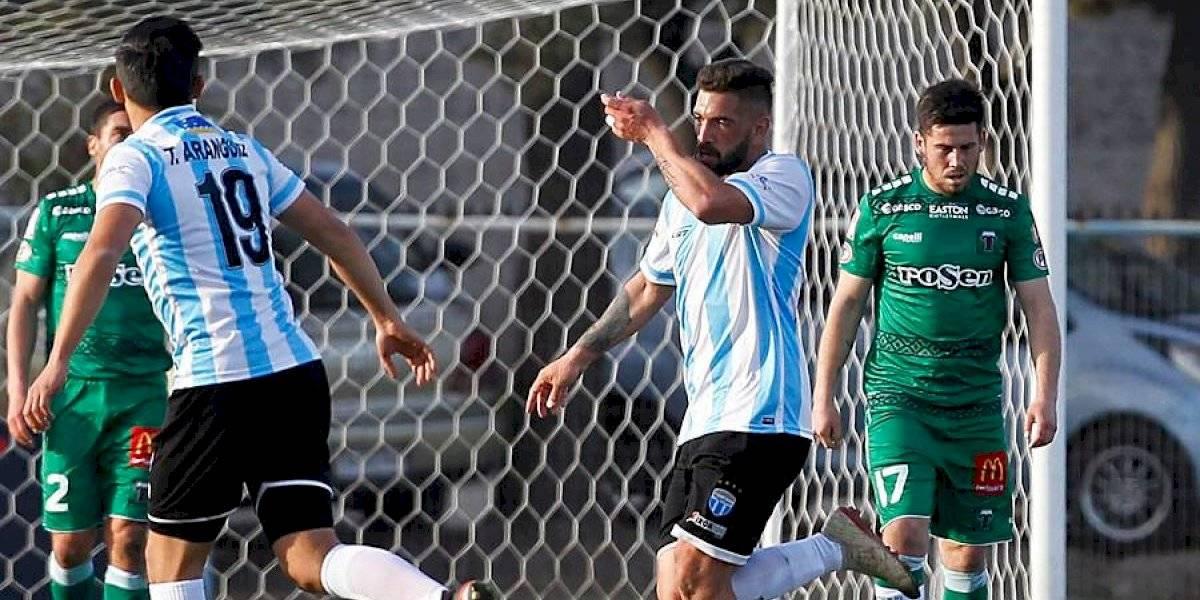 Primera B: Temuco desperdició la oportunidad de ser líder al perder ante Magallanes