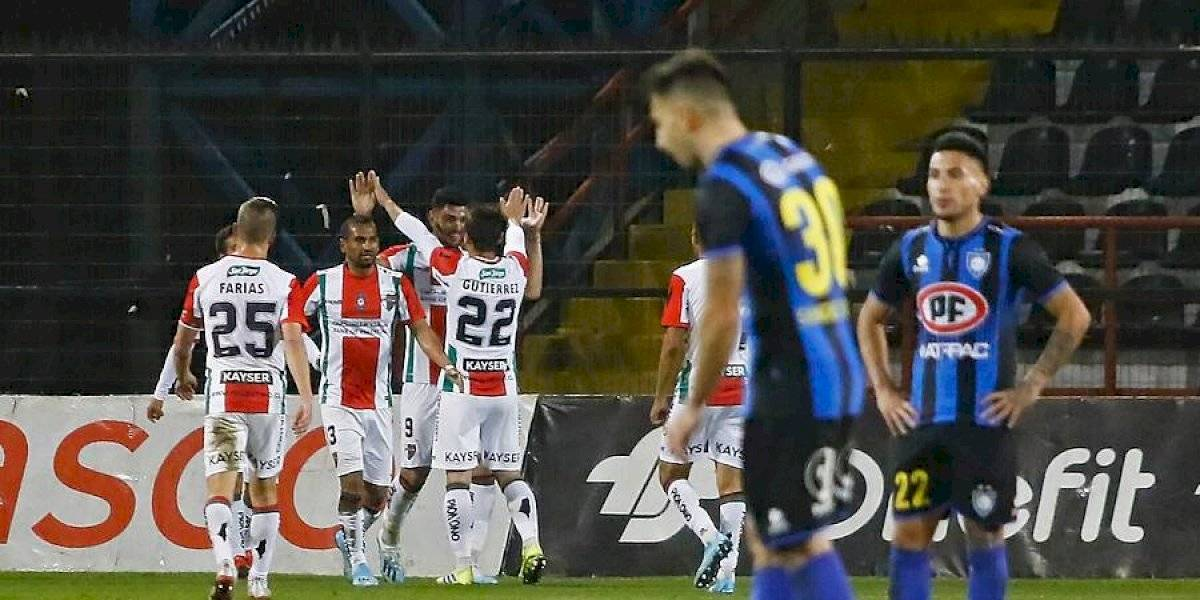 Palestino pone fin a su mala racha al vencer a Huachipato con los goles de Passerini