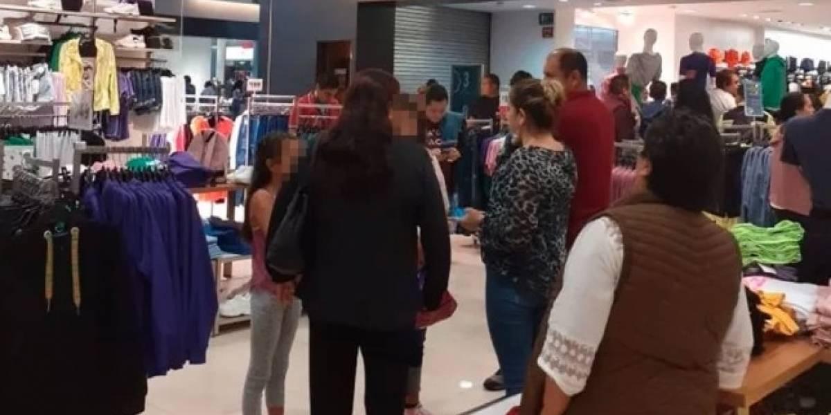 Reportan detonaciones afuera de plaza comercial en Uruapan
