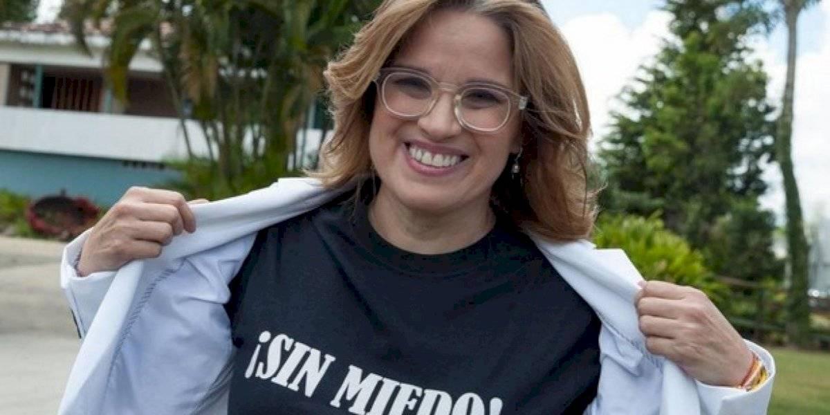 """""""Que se tire que está llanito"""" le dice Carmen Yulín a Ricardo Rosselló"""