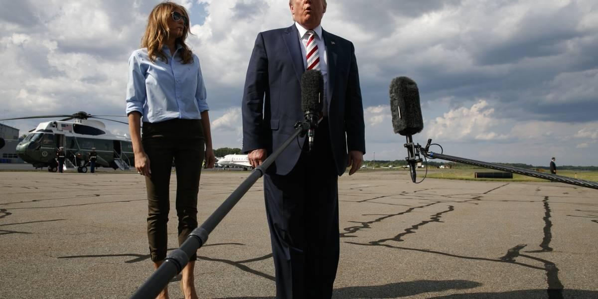 Se hace sentir ausencia de Trump tras tiroteos