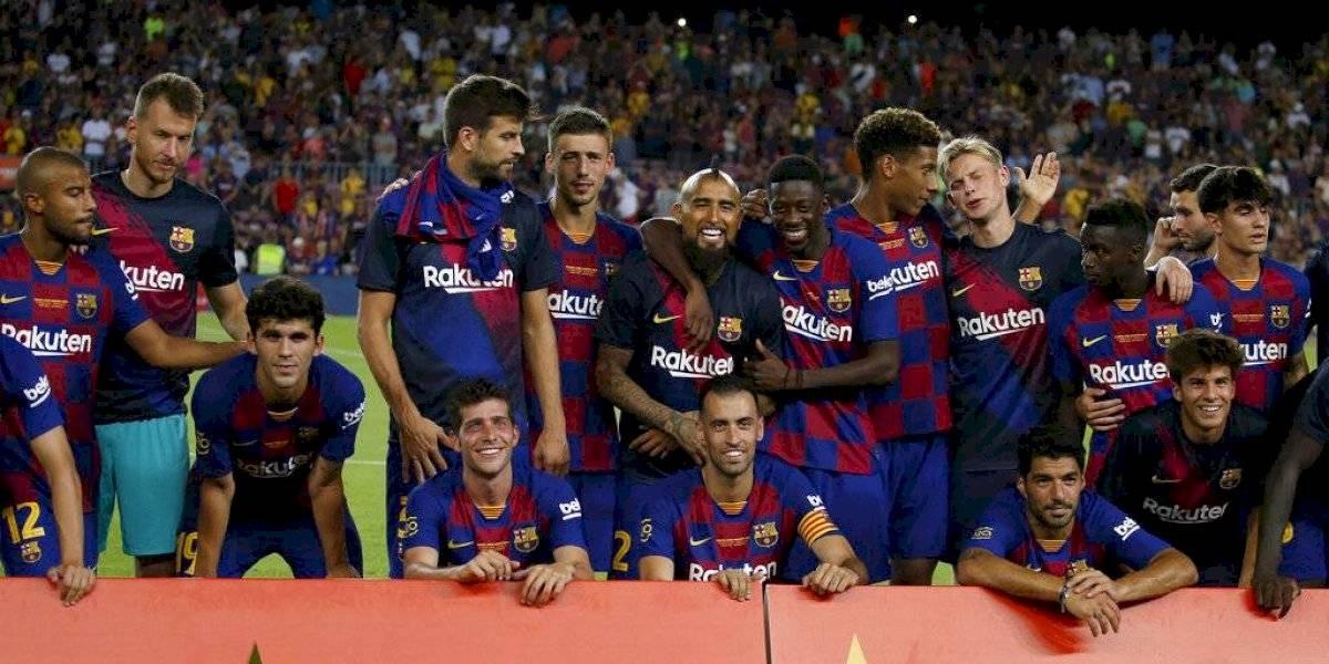 Barcelona le arrebata al Arsenal el Joan Gamper con un gol de último minuto