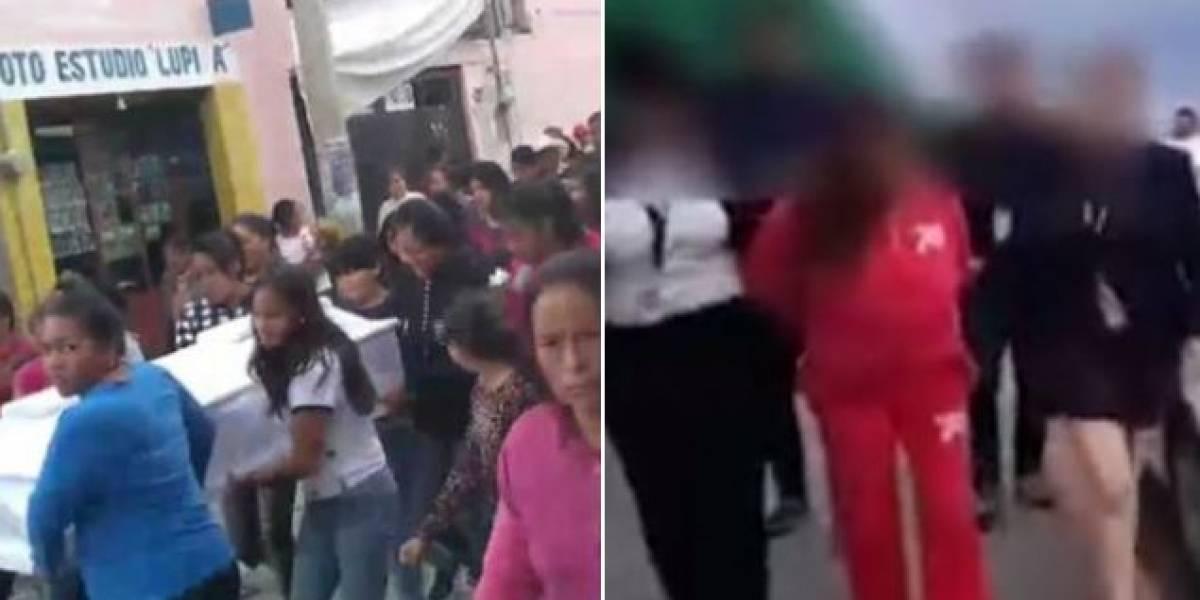 """""""Discúlpame, acabo de matar a tu hija"""": El escalofriante mensaje de una abuela tras matar a su nieta"""