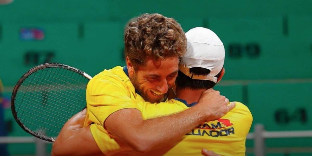 Gonzalo Escobar y Roberto Quiroz ganaron la primera Medalla de Oro en Tenis