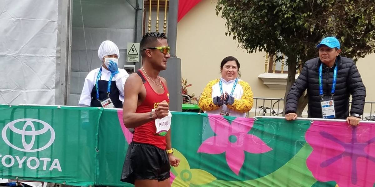 Juegos Panamericanos: Oro para Ecuador en los 20 Km de Marcha