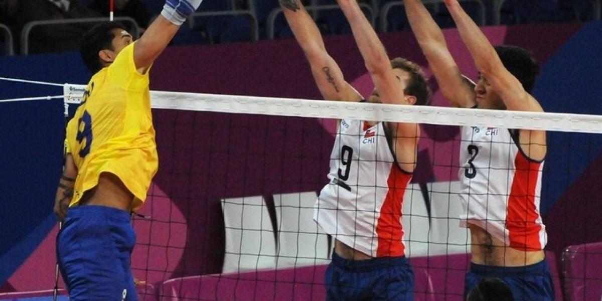 El voleibol del Team Chile dio gran pelea ante el poderoso Brasil que le quitó el bronce de los Panamericanos