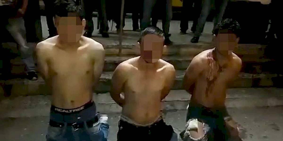 Vapulean a tres presuntos extorsionistas y les dan 48 horas para abandonar San Raymundo