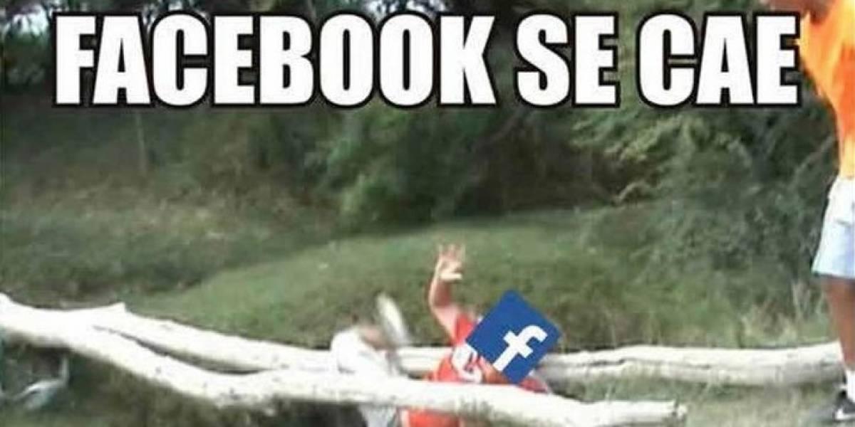 Facebook presenta una nueva falla global y usuarios responden con memes