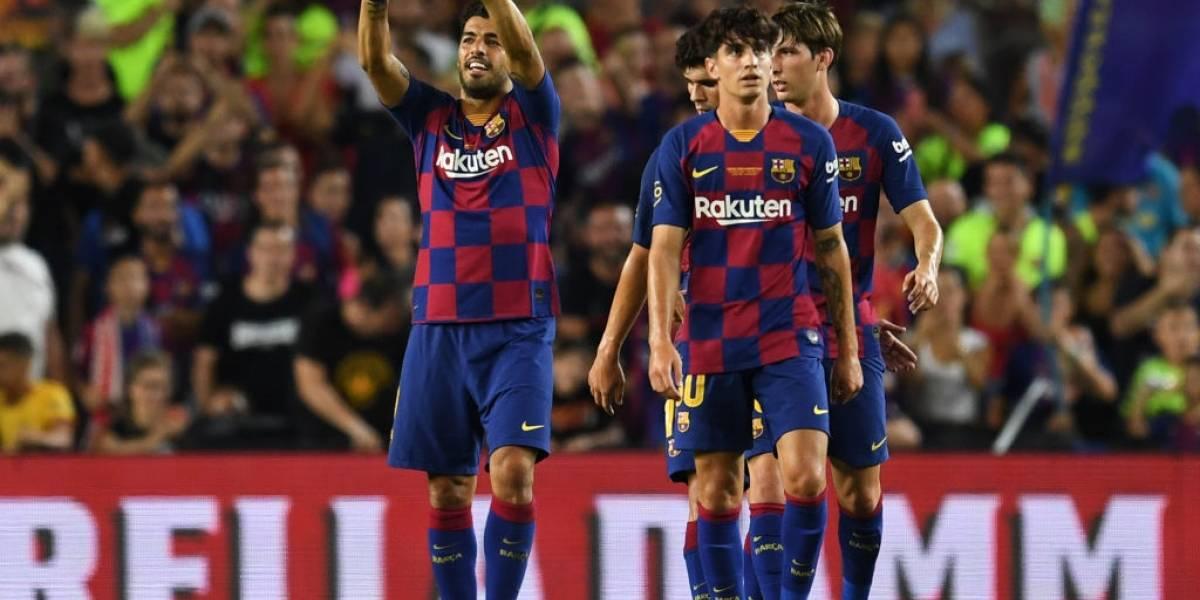 Barcelona se quedó con el trofeo Joan Gamper ante Arsenal con la ausencia de Arturo Vidal