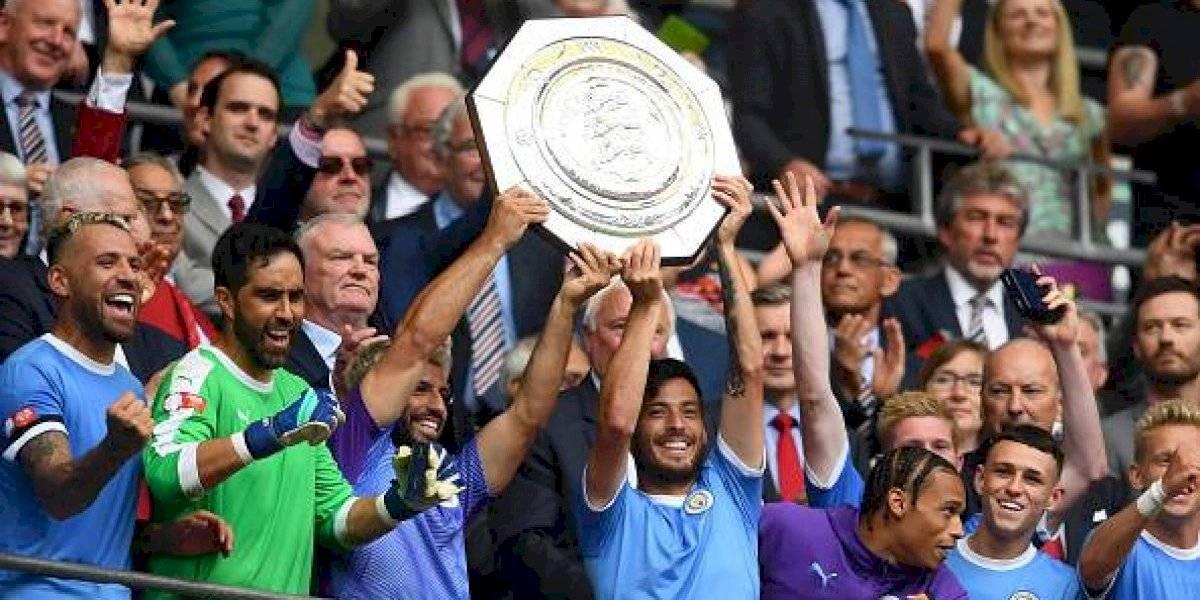 Manchester City es campeón de la Community Shield venciendo al Liverpool