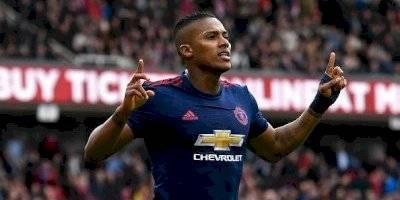 Antonio Valencia en Manchester