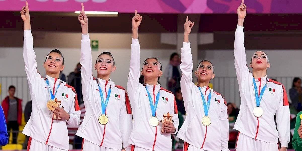 Ya son 20: Nueva medalla de oro para México en gimnasia rítmica