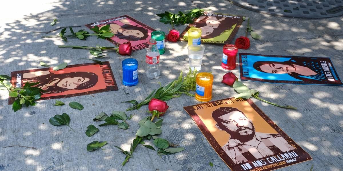 Duarte se deslinda de homicidio del fotoperiodista Rubén Espinosa