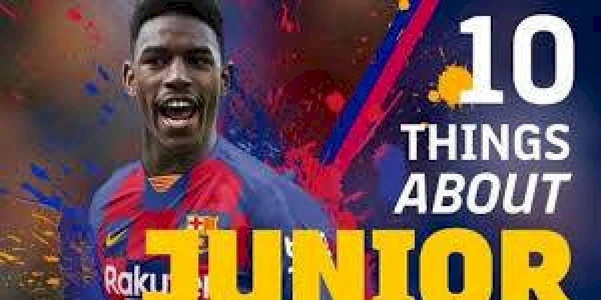 Barcelona fichó al lateral dominicano Junior Firpo