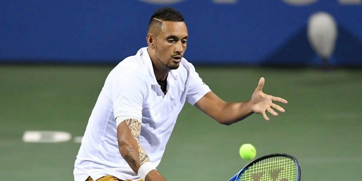 VIDEO: ¡La jugada de fantasía que Kyrgios se atrevió a hacer durante la final del ATP 500 ante Medvedev!