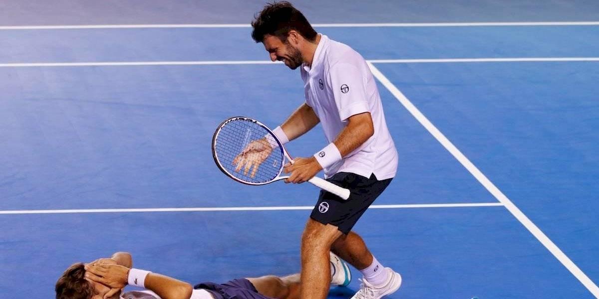 Hugo Nys y Romain Arneodo se llevan el de dobles en el Abierto de Los Cabos