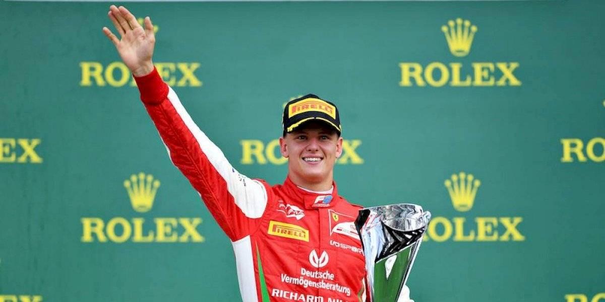 Mick Schumacher gana su primera carrera en F2