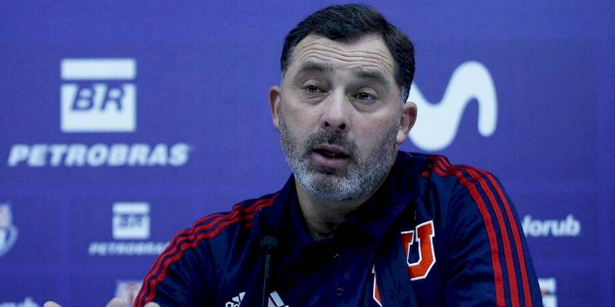 Hernán Caputto fue elegido como nuevo técnico de la U tras la salida de Alfredo Arias
