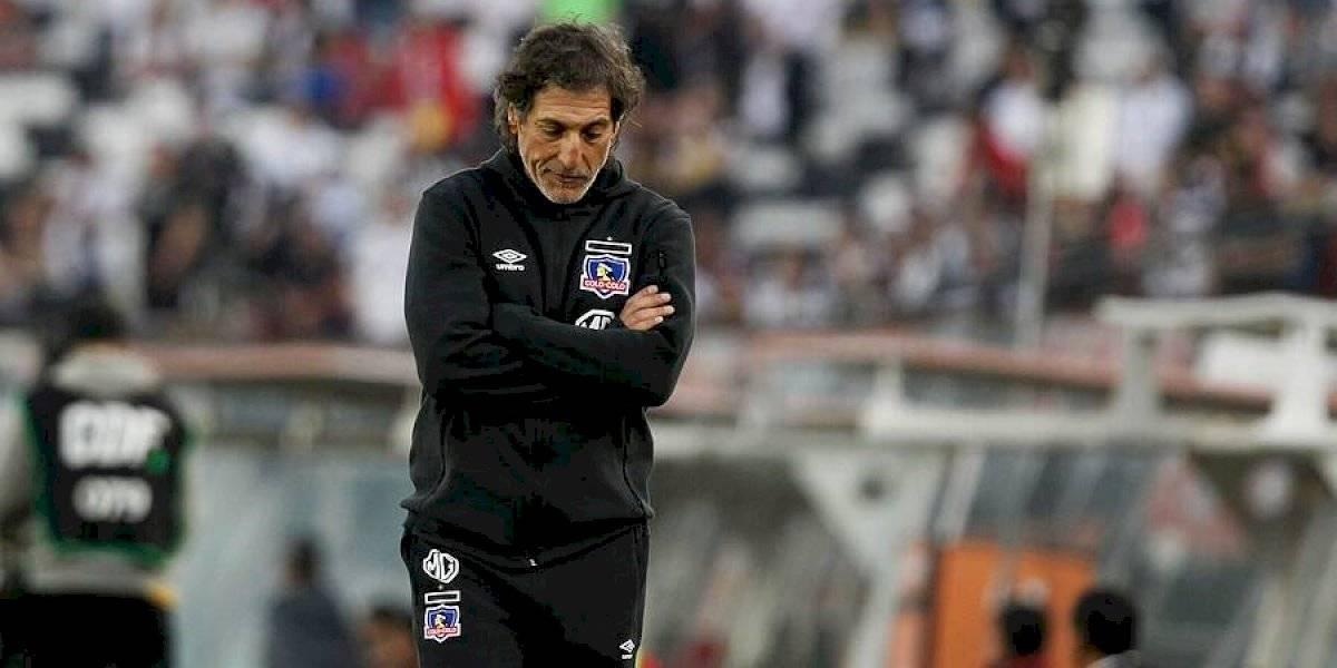 """El lamento de Mario Salas en Colo Colo: """"Fue el partido más bajo de hace mucho tiempo"""""""