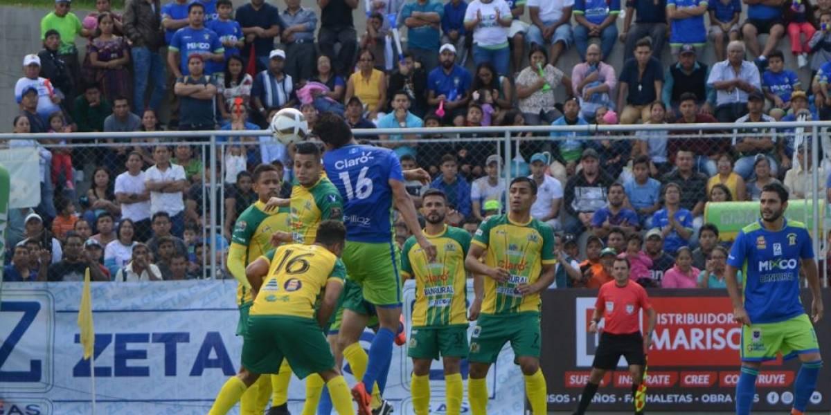 VIDEO. Deportivo Mixco cede puntos en su estadio ante Guastatoya
