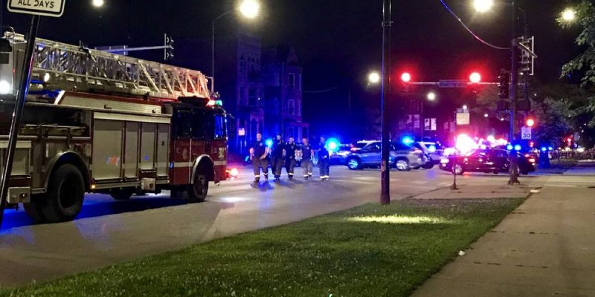 Tiroteo en Chicago deja al menos 7 heridos