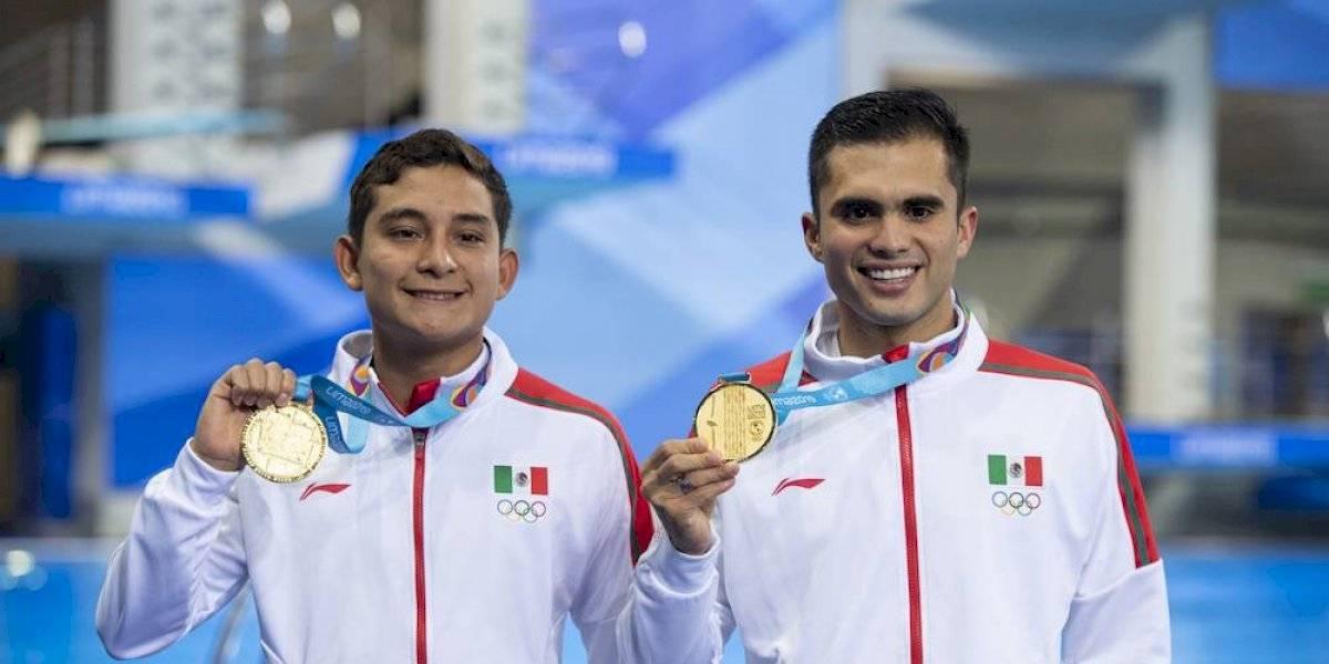 Kevin Berlín e Iván García se bañan de plata en Serie Mundial de Clavados